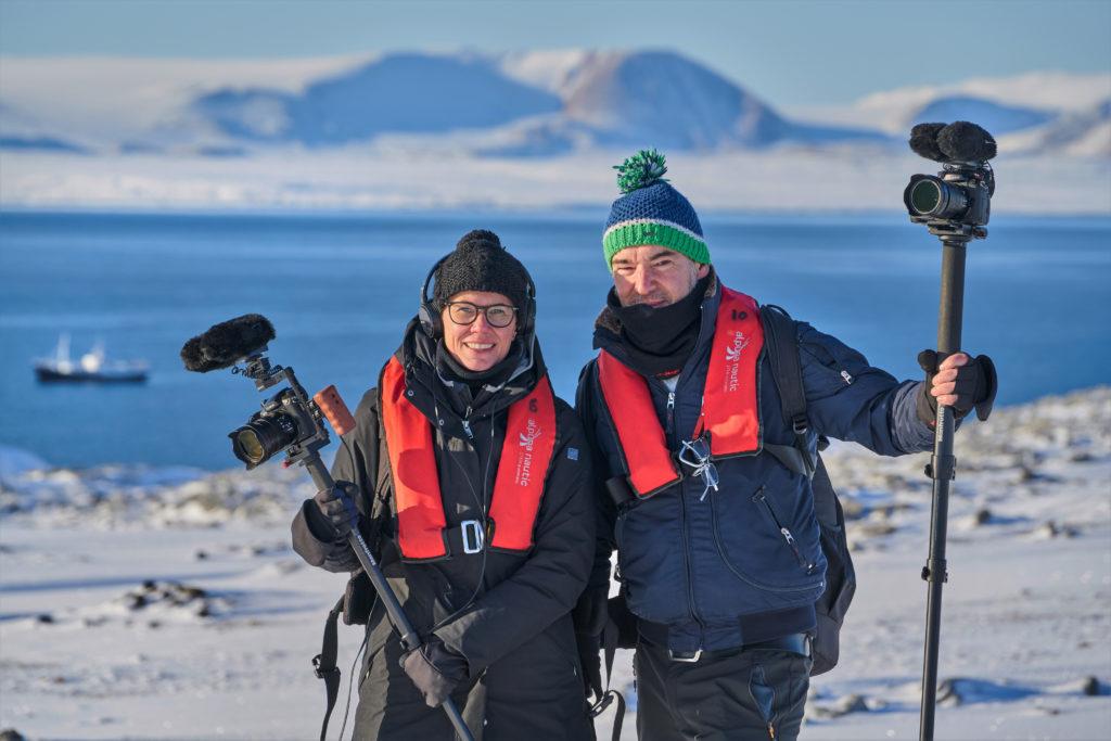 01 Spitzbergen - Silke Schranz und Christian Wüstenberg in der Arktis 300dpi